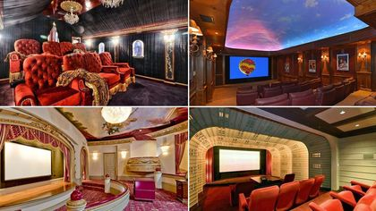 Award-Worthy: 11 Over-the-Top and Opulent Home Movie Theaters