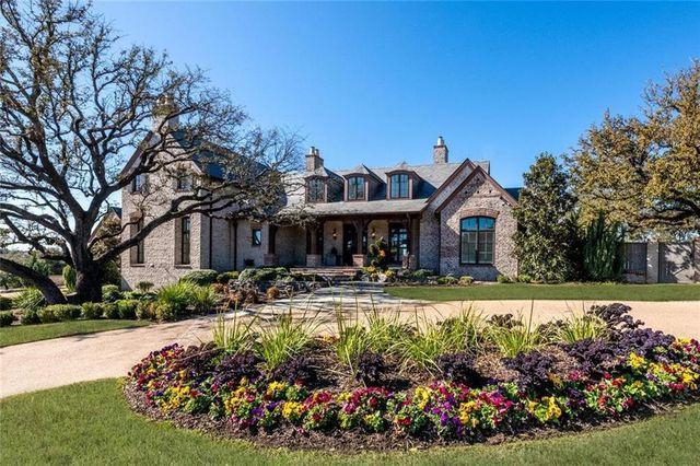 Woodway, TX home Matt Rhule exterior