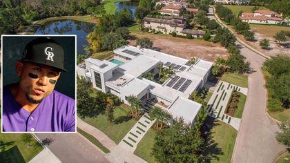 MLB Slugger Carlos Gonzalez Selling Award-Winning $5.5M Estate in Orlando