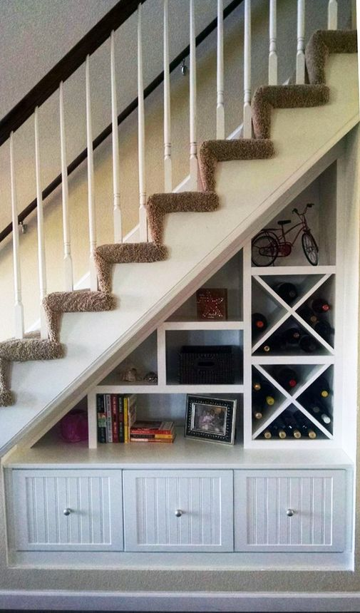 Under Stair Storage Fills This Space In A Smartu2014and Attractiveu2014way.