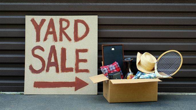 9 Truly Strange Things Found at Garage Sales