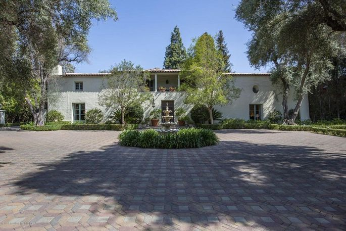 The home Wallace Neff built for himself in San Marino, CA