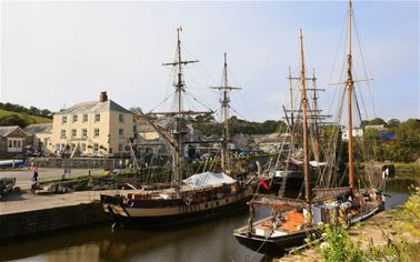 Pirate Life: Own a Historic English Port (Ships Included) For $7M (PHOTOS)