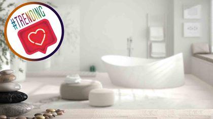 The Week's Biggest Bathroom Trends on Instagram Bring the Feng Shui