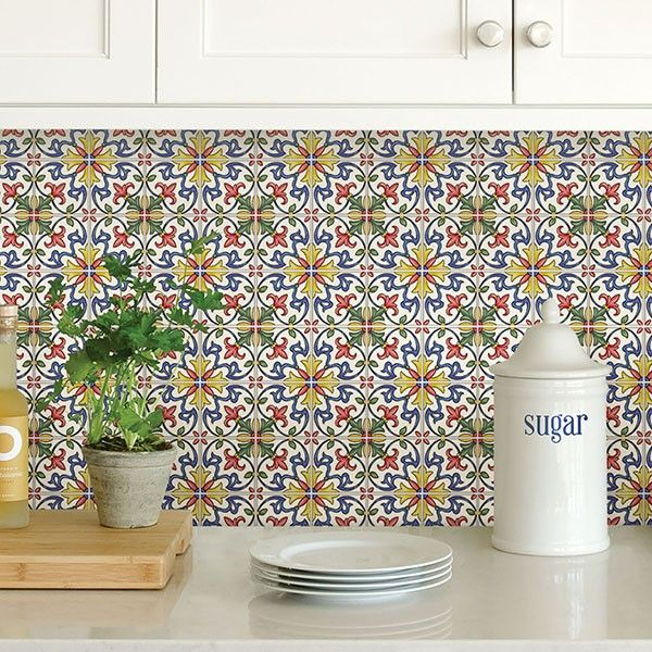 Peel And Stick Backsplash Tiles: Peel-and-Stick Tile: The Pros And Cons