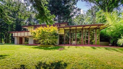 A Rare Frank Lloyd Wright Home in Ohio Is Back on the Market for $1.3M