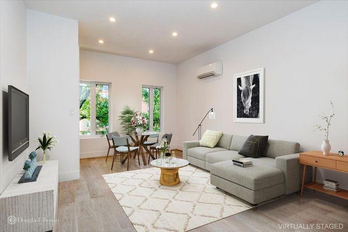 Living room in main unit