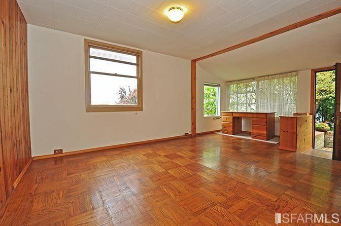 A million dollar shack 39 earthquake shack 39 in sf for B q living room doors