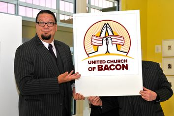 Church of Bacon Hopes for a Miracle With Penn Jillette Estate