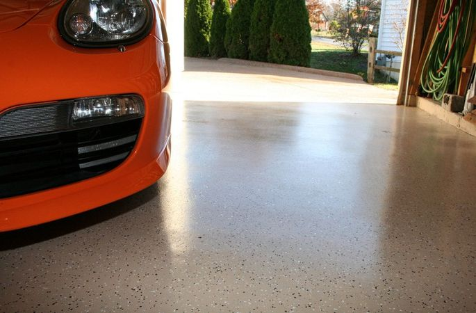 A new garage floor doesn't have to cost you an arm and a leg.
