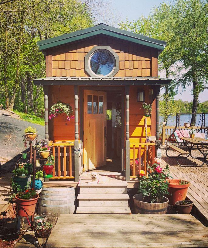 Awesome A Customized Tiny House