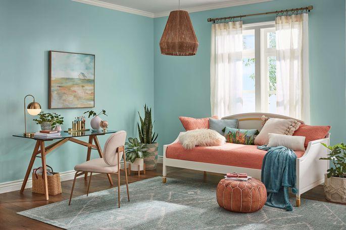 Home office color palette