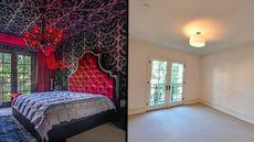 Beverly Hills Townhouse With Wild Interiors Undergoes Shocking Renovation