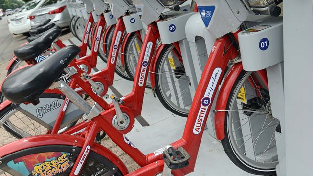 Austin Cycle, Austin's bike sharing program.