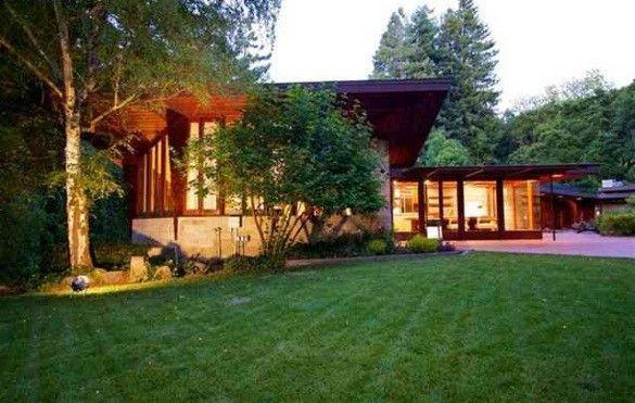 Usonian home by frank lloyd wright on market for 4 9 - Frank lloyd wright homes for sale ...