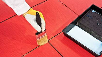 How to Paint Ceramic Tile to Revamp Your Bathroom on the Cheap