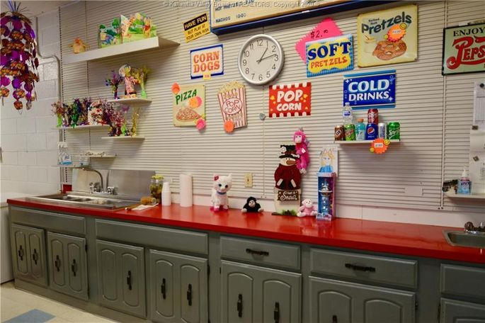 Concessions stand