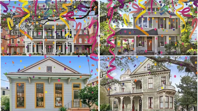 Party On 6 New Orleans Homes On Mardi Gras Parade Routes
