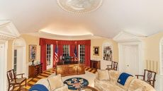 Ohio Home With Oval Office Replica Is the Ultimate Work-From-Home Setup