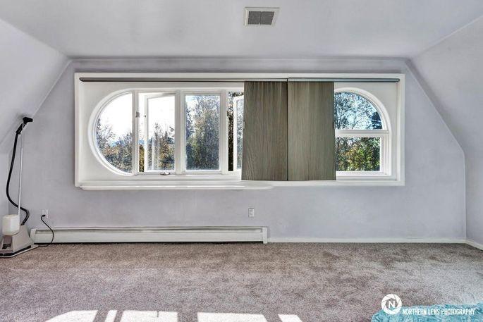 Half-circle windows