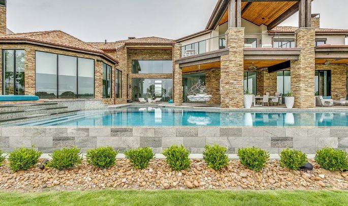 Pool at Westlake home