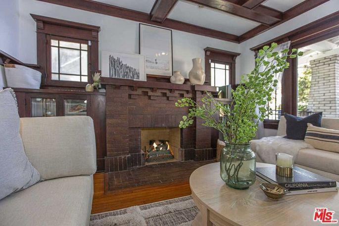 Original Craftsman fireplace