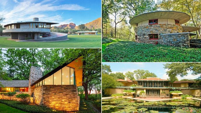 7 Fantastic Frank Lloyd Wright Homes On The Market Right Now