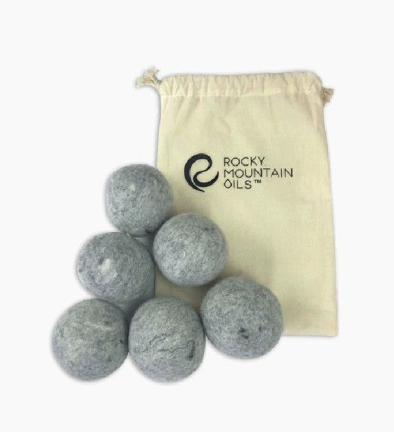 Swap out your dryer sheets for reusable wool dryer balls.
