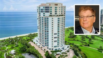Miami Marlins Owner Bruce Sherman Lists Naples Penthouse for $18.9M