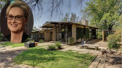 Meryl Streep Buys Mid-Century Modern Gem in Pasadena, CA, for $3.6M