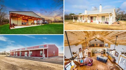 Far From a Boring Barn, These 9 Texas Barndominiums Offer Stylish Digs