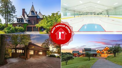 Slap Shot! Connecticut Compound With Hockey Rink Is the Week's Most Popular Home