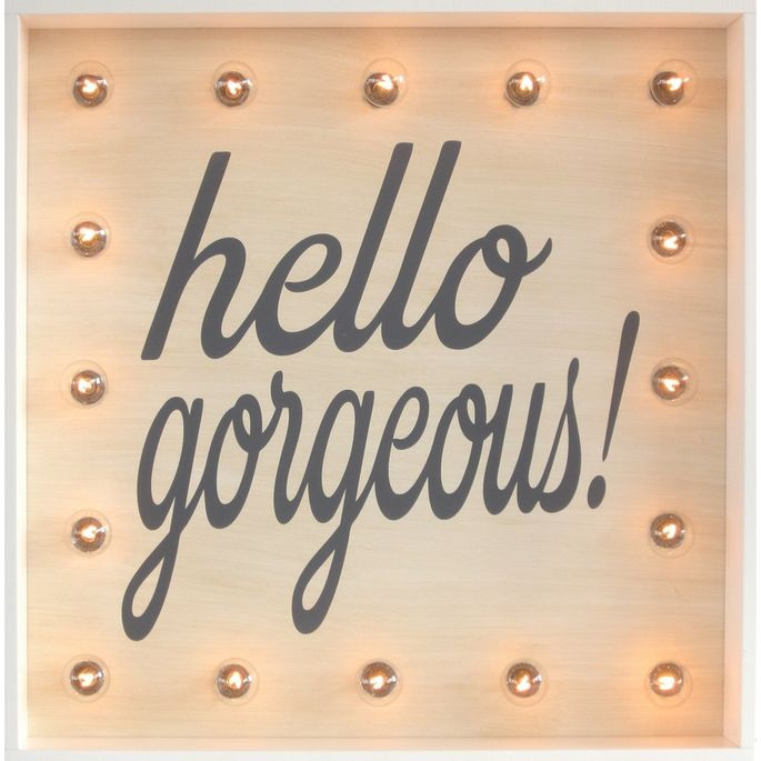 You are gorgeous. This sign? Not so much.