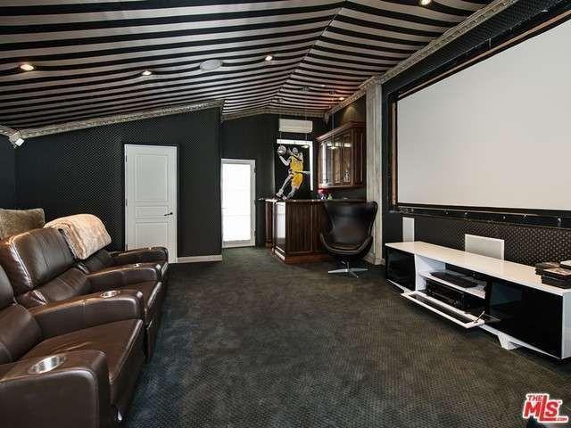 Movie theater upstairs