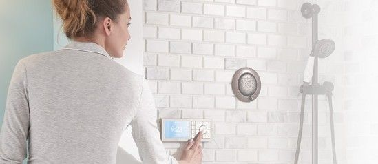 Moen U smart shower