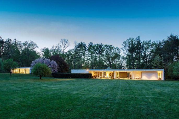 Eliot Noyes–designed home