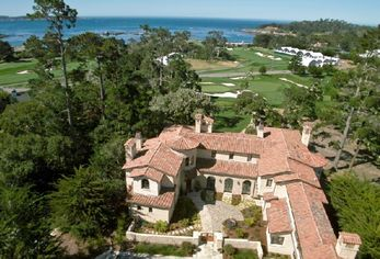 Teeing Off: Five Pebble Beach Golf Course Homes (PHOTOS)