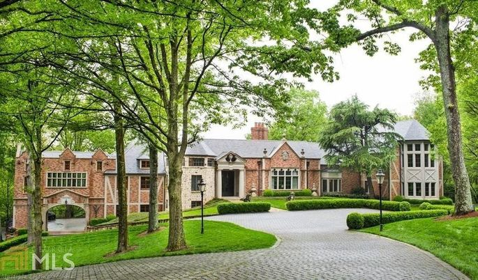 Metallica rocker 39 s mansion is our most popular home this for South georgia home builders