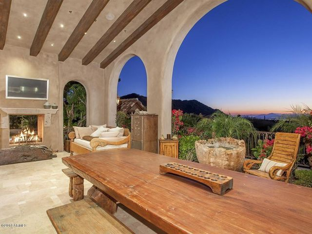 Most expensive listing AZ outdoor dindng