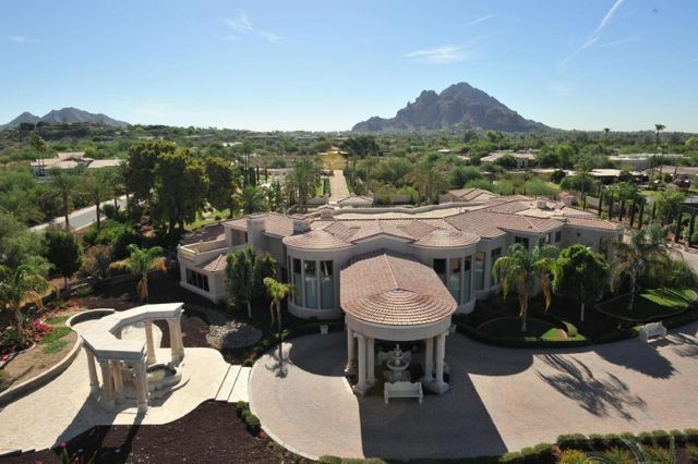 A 12,301-square-foot mansion in Paradise Valley, AZ