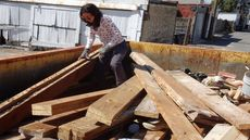 Old Wood Can Cost More Than New Lumber. People Want It Anyway.