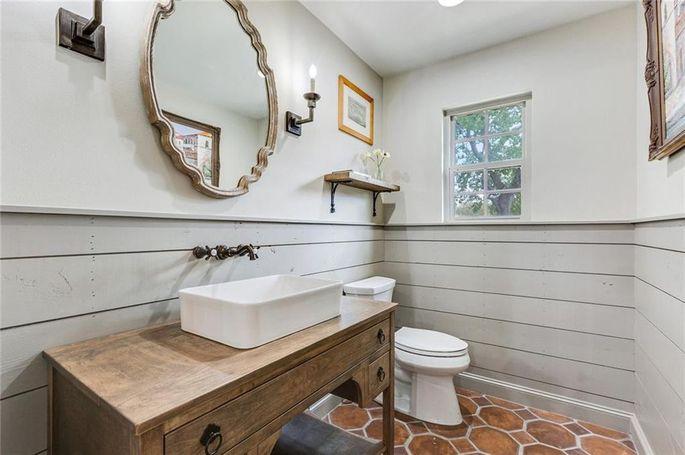 Half-bath addition