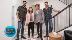The Property Brothers Discover Jeremy Renner's Secret Talent on 'Celebrity IOU'