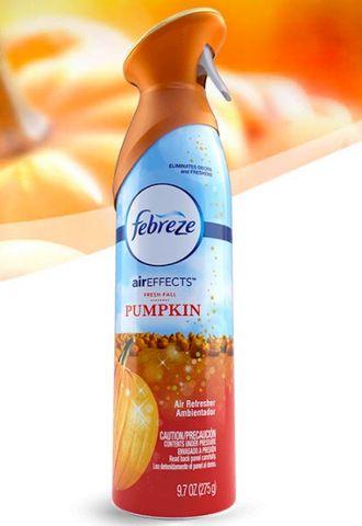 What smells better than air? Pumpkin-scented air!