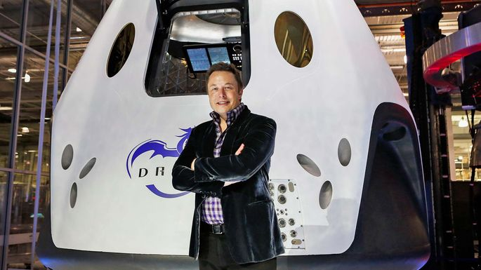 Elon Musk, chief executive officer of SpaceX