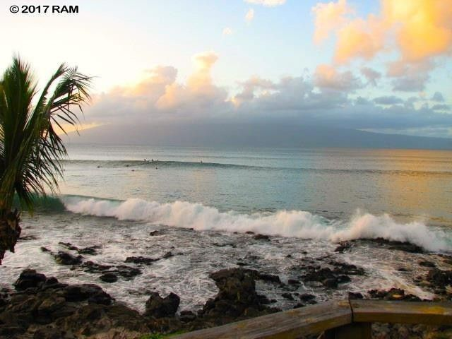 Watch the surf action from your front yard.