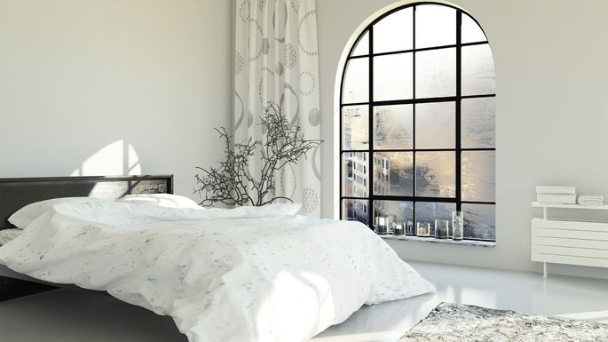 White Bedroom Asbe Istock Walls
