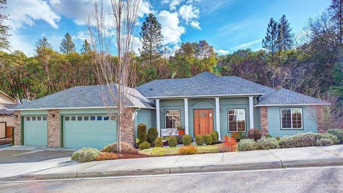 A three-bedroom home in Grant Pass.