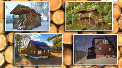 Lumber for Less! 9 Affordable Log Cabins, All Priced Below $200K