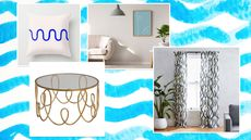 A Fine Line: Sassy Squiggles Are the Latest Decor Trend to Take Shape at Home
